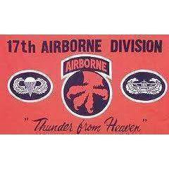 17th Airborne Flag 3 X 5 ft. Standard