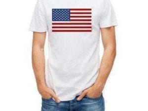 USA Flag T-shirt (large)