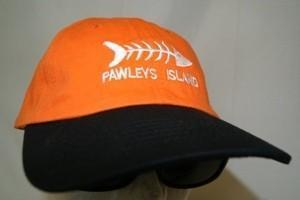 Pawleys Island Fish Orange/Black Cap
