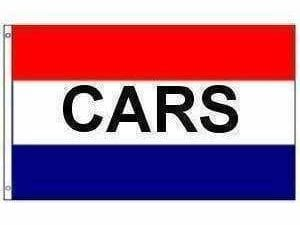 Cars Flag (sign flag) 3 X 5 ft. Standard