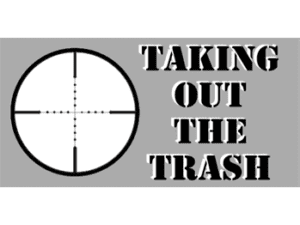 Taking Out the Trash Bumper Sticker