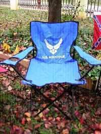 US Air Force Folding Chair
