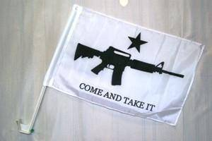 M4 Come and Take It Car Flag
