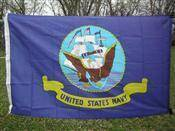 Navy Flag – Nylon Printed Flag 2 x 3 ft.