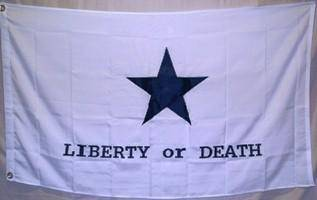Goliad Texas Battle Double Nylon Embroidered  Flag 3 x 5 ft.