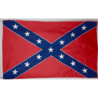 RU Flag 3x5 / Nylon Embroidered Rebel Flag - Confederate Flag -  Nylon Embroidered - Collectors Edition 2x3,3x5,4x6,5x8,6x10