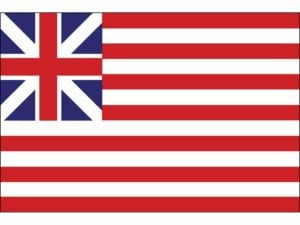 Grand Union Flag Continental Colors – Cotton  4 x 6 ft.