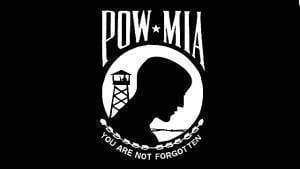POW/MIA Flag – Prisoner of War, Missing in Action Flag 3 X 5 ft. Standard Single