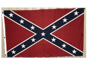 Rebel Flag – Confederate Flag – Knitted Outdoor 3×5 – Herculite