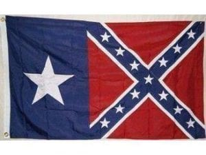 Texas Battle Flag 3 X 5 ft. Light weight Standard