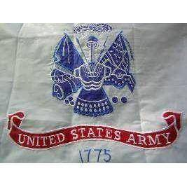 US Army Flag – Double Nylon Embroidered – 2 x 3 ft.