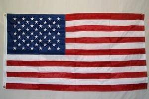 USA Flag – 50 Stars 4 x 6 ft Poly-Max Flag (USA Made)
