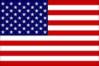USA Flag  Nylon Embroidered 2 x 3 ft for boats