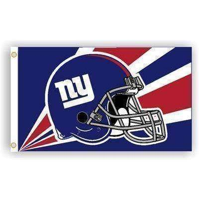 vendor-unknown Flag New York Giants Helmet Flag 3 x 5 ft