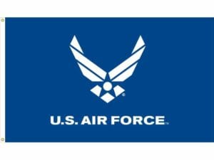 U.S. Air Force Wings (Blue) Flag Outdoor 3 X 5 ft. Nylon Dyed Made in USA