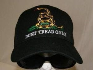 Gadsden Don't Tread on Me Cap Black