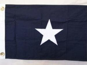 Bonnie Blue Cotton Flag 4 x 6 ft.