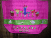 Carolina Girl Beach Bag