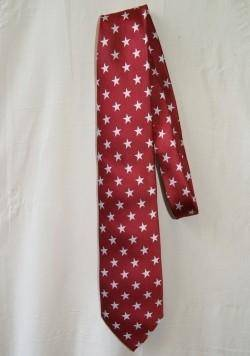 Red and Stars Neck Tie