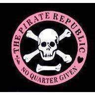 Pirate Republic (No Quarter Given) Flag 3 X 5 ft. Standard