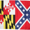 RU Rebel Flags & Confederate Flags Maryland Rebel Battle Flag 3 X 5 ft. Standard