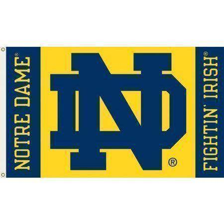 vendor-unknown Search Flags by Quality University of Notre Dame Flag 3 x 5 ft