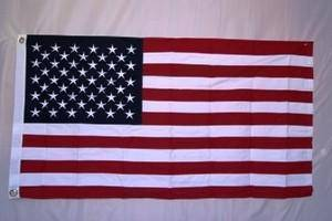 USA Cotton Flag 2.5 x 4.5 ft.