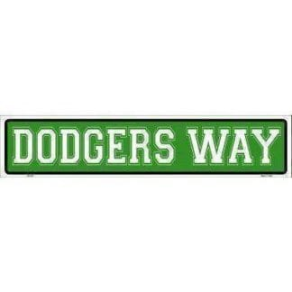 vendor-unknown Sports Items Dodgers Way Sign