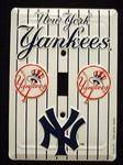 New York Yankees Light Switch Covers (single)