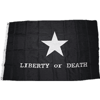 Troutman Tactical Black Liberty or Death Double Nylon Embroidered 3′ x 5′ Flag
