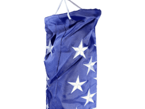 USA Flag  Embroidered Windsock