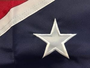 Classic Confederate Flag Nylon Sewn Rebel Flag Huge